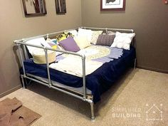 pipe bed frame galvanized pipe bed suggestions online images of pipe bed frame diy queen pipe bed frame