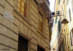 """Girovagando nel """"Ghetto Ebraico"""" della mia Genova Discovery, Around The Worlds, Country"""