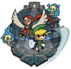 The Legend of Zelda: The Wind Waker, Toon Link and Medli / The Wind Waker: Earth Temple by Purrdemonium on deviantART