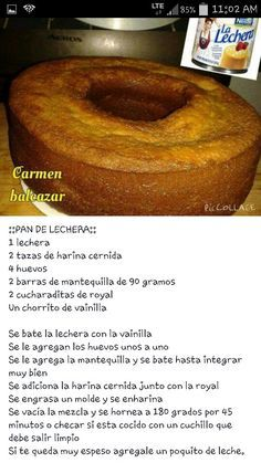 Dairy Bread Tortilla Cake, Cake And Cake Recipes, Confectionery Recipe . - Dairy Bread Tortilla Cake, Cake And Cake Recipes, Confectionery Recipe … – Da… – Dairy Br - Mexican Bread, Mexican Dishes, Mexican Food Recipes, Sweet Recipes, Carrot Recipes, Köstliche Desserts, Delicious Desserts, Yummy Food, Pan Dulce