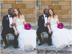 Bride and Groom pose | E Schmidt Photography | Metro Detroit Wedding Photographer | Ann Arbor Law Quad Photography