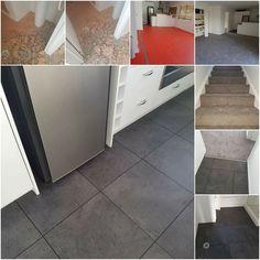 Tiles: Opus Stone, Ombra Karndean Carpet:  Natural Decoration, Hazy Stratus Smart Strand