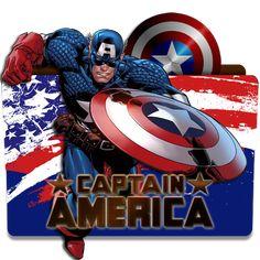 Captain America by CandyRoxx.deviantart.com on @DeviantArt