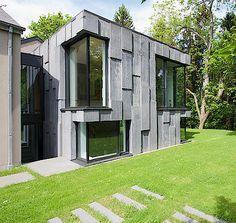 Außergewöhnliche Architektur mit minimal windows