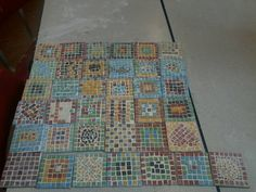 Not all mine. As part of our class topic on The Romans, we made mosaic coasters. the kids really enjoyed it. Some are better than others....