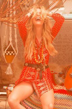 Gypsiana Shirt Dress - Red Bandana • Spell & The Gypsy Collective