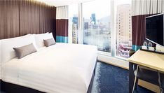 Special Hotel Deals & Events Sustainable Environment, Queen Room, Group Of Companies, Hotel Deals, Best Hotels, Hong Kong, Curtains, Luxury, Bed