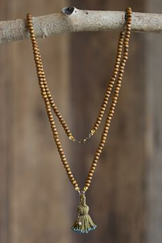 Prayer bead necklace