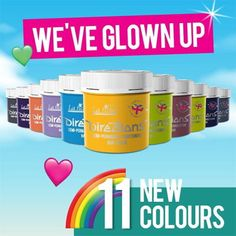 Directions have added 11 new shades to their range. These include some fluorescent/uv reactive colours. You can view them on our website Directions Hair Dye, Alternative Hair, Dyed Hair, Shades, Range, Colours, Website, Cookers, Sunnies