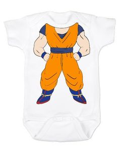 Goku Baby Unisex Baby Bodysuit Animation Anime Dragon Ball