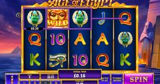 Age of Egypt Slot von Playtech im Test 2020 Spin, Egypt, Play, Games, Arcade Game Machines, Photo Illustration, Gaming, Toys, Plays