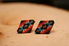 Native Post Earrings by wildmintjewelry on Etsy, $25.00