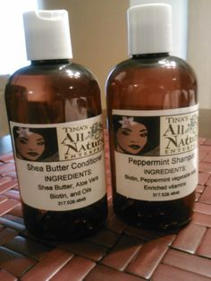 2 for $18 instead of $20... Peppermint Shampoo and Shea Butter Conditioner..