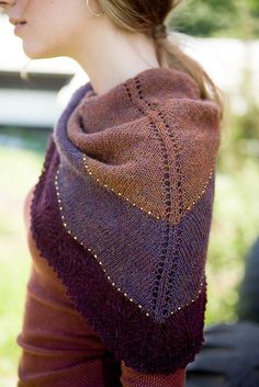 One of mine! Still love this color combo, Ultra Alpaca Light + golden beads :)