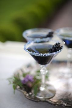 Blackberry Martini Recipe