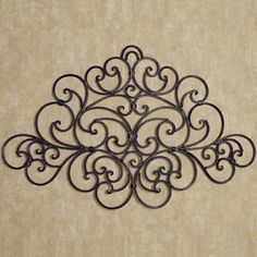 Camilio Scroll Wrought Iron Wall Grille