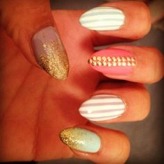 Nails by @JessicaGlossin        Are your nails more styled than your outfit? Do you have more art on your fingertips than your walls? Is your stash of polish taking over every cupboard in your house? Sounds like you could have an Obsessive Fashion Disorder.     Email us a picture of your nail designs to OFD@asos.com or tweet us a pic with the hashtag #ASOSOFD and the coolest, craziest and most creative pics will be to be diagnosed with OFD will be posted on the ASOS Pinterest.