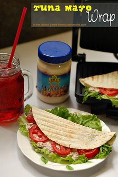 What do you do when you have tuna and mayonnaise at home? Make tuna mayo spread. To amp it up, I brought out my panini maker and used tortillas instead of bread. Get the recipe here: http://www.themisischronicles.com/tuna-mayo-wrap-recipe/