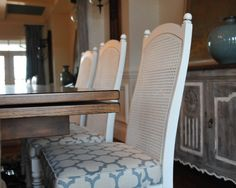 Painting Cane Back Dining Chairs Design, Pictures, Remodel, Decor And Ideas