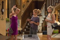 Netflix had mercy on Fuller House fans Thursday and released several episodic photos from the upcoming revival series. In the pics, D.J., Kimmy and their kids hang out with Steph, Uncle Jesse, Aunt...