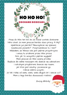ho-ho-ho-kopia-kopia-2 Winter Christmas, Christmas Time, Christmas Crafts, Merry Christmas, Xmas, Holiday, Winter Time, Kids And Parenting, Diy And Crafts