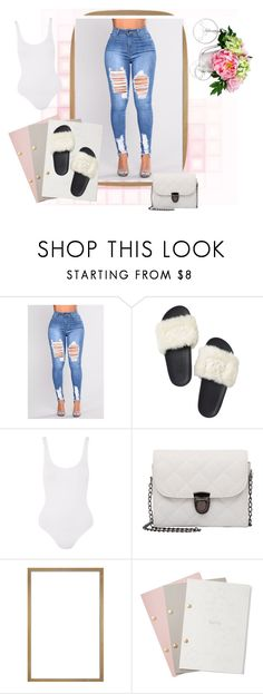"""""""Template #1"""" by amadison0721 ❤ liked on Polyvore featuring Victoria's Secret, Topshop, StudioSarah and Nearly Natural"""