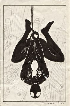 Charles Vess Web of Spider-Man #8 Cover Prelim Comic Art