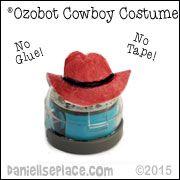 Ozobot Cowboy Costume