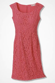 Romantic Lace Sheath, Pink