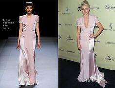 Julianne Hough In Jenny Packham - The Weinstein Company's 2013 Golden Globe Awards After Party