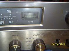 Vintage Bogen Solid State Stereo-Tuner Amplifier AS-IS Estate find Not Tested #Bogen