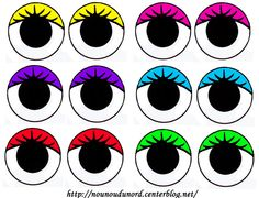 Yeux à imprimer Preschool Crafts, Crafts For Kids, Arts And Crafts, Doll Eyes, Doll Face, Cartoon Faces, Cartoon Drawings, Balloon Face, Doodle Monster