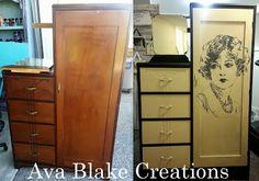 Ava Blake Creations: Dressers, Dressers, Rah Rah Rah!