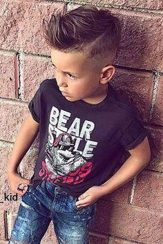 30 trendy boy hairstyles for stylish little boys Boys Haircuts 2018, Stylish Boy Haircuts, Boy Haircuts Short, Cool Boys Haircuts, Little Boy Hairstyles, Toddler Boy Haircuts, Haircuts For Men, Cool Hairstyles, Boys Hairstyles Trendy