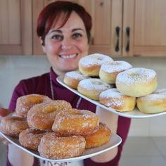 Goal - Italian Pastries Pastas and Cheeses Italian Pastries, Italian Desserts, Italian Recipes, Donut Recipes, Cake Recipes, Dessert Recipes, Cooking Recipes, Ebelskiver Recipe, Biscuit Sandwich