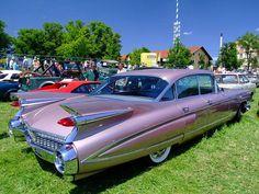 Shared with Dropbox 1959 Cadillac, Pink Cadillac, Cadillac Ct6, Cadillac Fleetwood, Cadillac Eldorado, Classy Cars, Sexy Cars, Cool Rvs, Hot Bikes