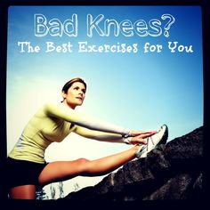 Get the bee's knees of wellness! If you've suffered from an injury or just want to strengthen your knees, here are some simple exercises and workouts that are low-impact and great for recovery.
