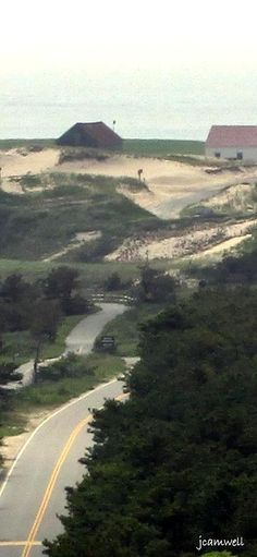 Race Point, seen from the Province Lands Visitor Center, Cape Cod