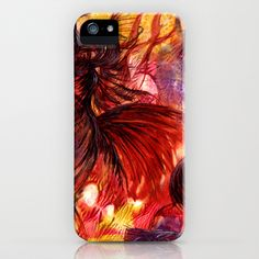 Phoenix iPhone & iPod Case by Vargamari - $35.00