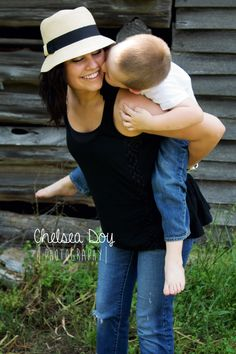 Mother son hat outside photography barefoot young chelsea doy photography family