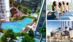Villa Vinhomes Golden River, where convergence of the elite values will bring to your family the most complete and perfect life. Ho Chi Minh City, Central Park, Parks, Villa, River, Mansions, House Styles, Outdoor Decor, Home Decor