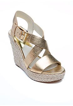 This summer wedge will go with just about anything! Find these at Belk.