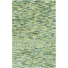 Found it at AllModern - Houseman Lime/Kelly Green Area Rug