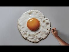 How to draw a perfectly fried egg :) - YouTube