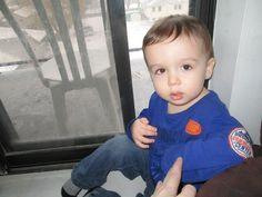 My favorite little guy.......my grandson Hunter.