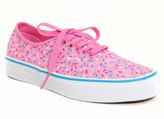 3a0e2671eb0 Vans Pink Sprinkles Authentic Lace-Up