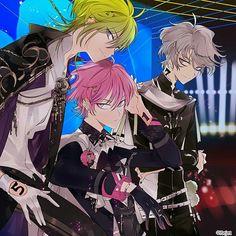【ディアヴォーカリスト THE BEST Rock Out!!! #2】TYPE:A(レオード・モモチ・ヨシュア) L Anime, Anime Guys, Anime Art, My Character, Character Design, Rejet, Avatar Couple, Manga, Beautiful Boys