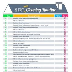 10 of the Best FREE Spring Cleaning Checklists on TheHowToCrew.com