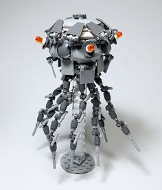 """LEGO Mech Jellyfish-22"" by ToyForce 120: Pimped from Flickr"