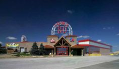 This convenience store, gas station, restaurant and more is the world's LARGEST truck stop is located just off Interstate 80. It's four times larger than the average truck stop. A perfect place to grab a snack on a road trip and browse through the Iowa 80 Trucking Museum.
